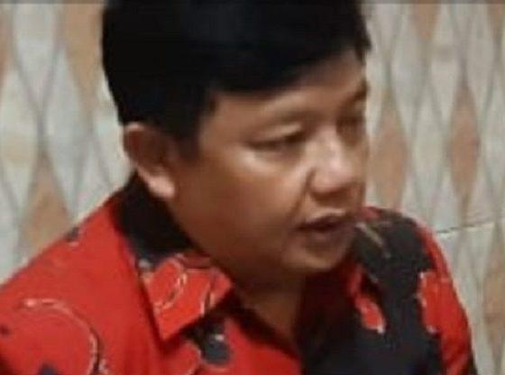 Sekretaris Badan Kebudayaan Nasional (BKN) PDIP Jatim Guntur Wahono. (FOTO:NUSANTARANEWS.CO/Try Wahyudi)