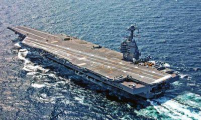 USS Gerald Ford Kapal Induk Paling Canggih