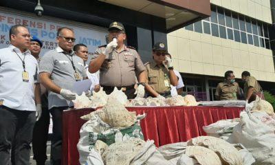 Amankan Satwa Dilindungi Rp 1,5M, Polda Jatim Tangkap Lima Residivis. (DOK. nusantaranews.co/setya)