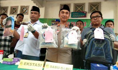 Serang Petugas Dengan Sajam, Timsus Polrestabes Surabaya Tembak Mati Bandar Narkotika