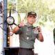 Jalur ke Arah Suramadu Dilengkapi Peralatan Sterilisasi Covid-19