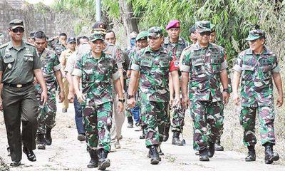 Aster Kasdam Brawijaya Tinjau Pembukaan TMMD di Mojokerto