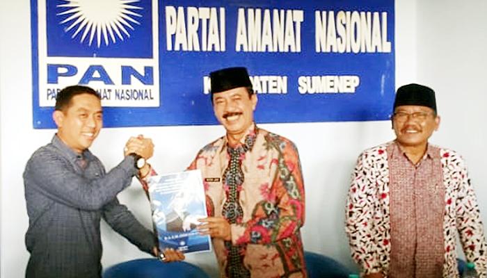 Galang Kekuatan Politik, Fattah Jasin Lamar DPD PAN Sumenep
