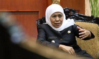 Corona Mewabah, Gubernur Khofifah Ingatkan DBD Lebih Berbahaya. (foto : nusantaranews.co /Setya)