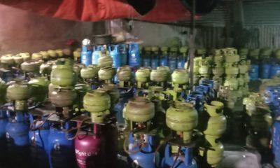 Warga Jakarta Barat Protes, Oknum Pelaku Usaha Ini Sabotase Gas LPG 3 Kg. (FOTO: istimewa)