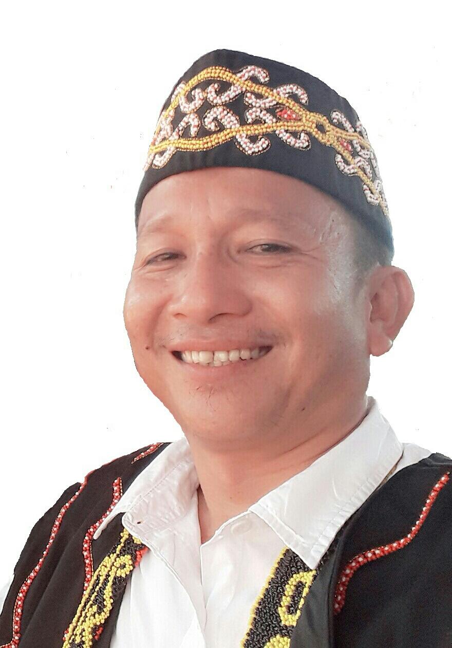 Ketua Dewan Adat Dayak Agabag Kaltara Agabag Hermanus