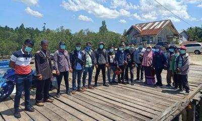 Cegah Corona, MPPI Turun Langsung Ketengah Masyarakat di Pulau Sebatik