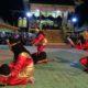 Penampilan siswa SMK Negeri Nunukan yang pulau ribuan penonton Iraw Tidung Borneo Bersatu 2020