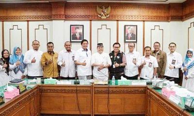 Komisi I DPR Aceh menggelar rapat dengar pendapat
