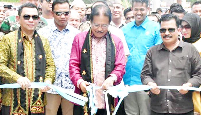 Pemkot Langsa Siap Kembangkan Kawasan Industri Pelabuhan Kuala Langsa