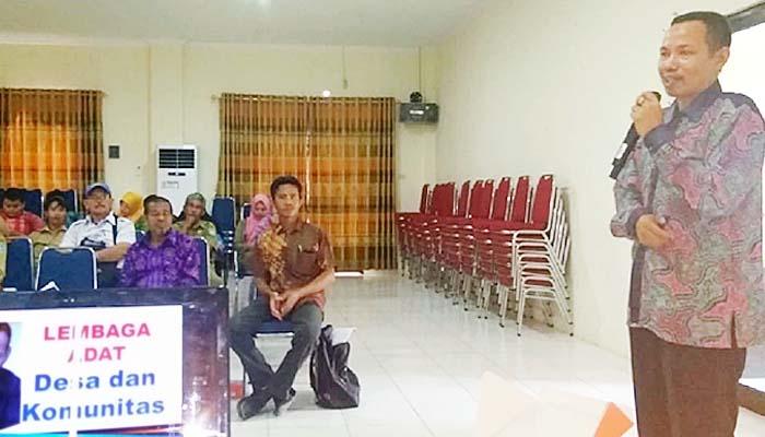 Peran Lembaga Adat Desa Dalam Pembangunan Desa