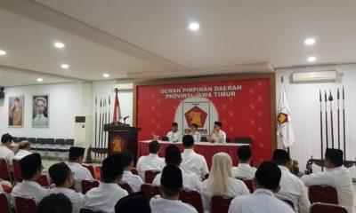 Kongres Digelar Tahun Ini, Gerindra Jatim Bulat Dukung Prabowo. (foto: nusantaranews.co / Setya)