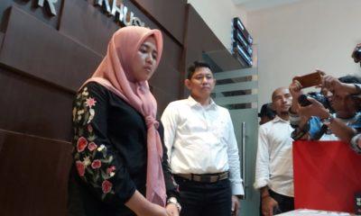 Posting Hoax Corona Di Jatim, Polda Jatim Tangkap Ibu Rumah Tangga. (foto: nusantaranews.co/Setya)
