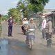 Razia Gabungan TNI-Polri Mantup Terapkan Physical Distancing