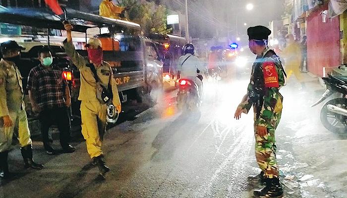 Patroli skala besar, Personil Kodim Surabaya Utara sasar tempat nokrong