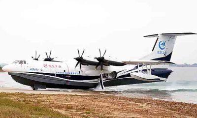 AG600 pesawat amfibi tebesar di dunia milik Cina