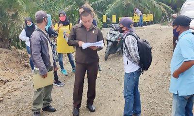Monitoring DPRD Nunukan, Andrea Pratama temukan proyek bermasalah.