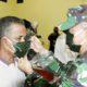 Pademi Corona, TNI-Pollri di Nunukan Berbagi Kasih Kepada Masyarakat