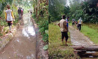 Kegiatan Gotong Royong Warga Gampong Alue Buloh Sa