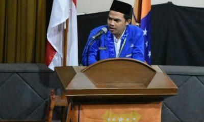 Ketua PMII DKI Jakarta, Rizki,