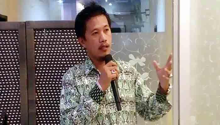 KADIN Nunukan suport Tim Satuan Tugas Covid-19.Ketua KADIN Nunukan, Irsan Humokor
