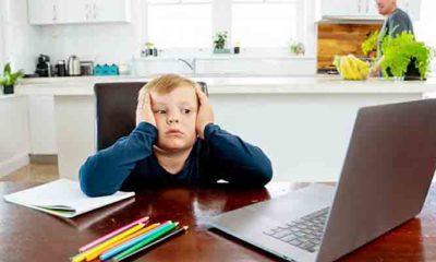 Ketika anak sekolah mulai belajar online, orang tua bingung?