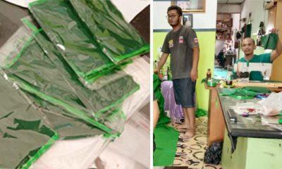 PPP Nunukan produksi 2000 masker untuk dibagikan secara gratis kepada masyarakat.