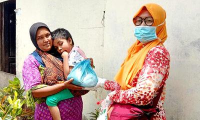 Momentum hari Kartini Yayasan PUSPA berbagi kasih perempuan dan anak berkebutuhan khusus
