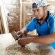 Kerajinan ukir kayu desa Karduluk diminati banyak 0rang