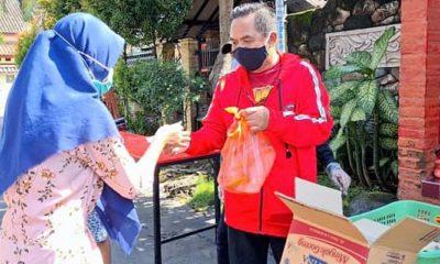 Politisi PDIP bagikan 1000 paket sembako untuk masyarakat desa