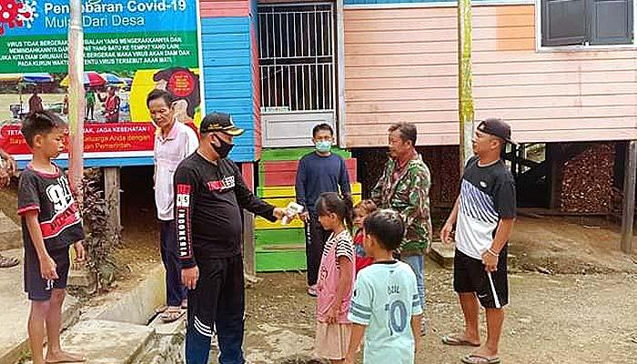 Menengok sinergitas TNI-Pemkab Nunukan cegah Covid-19 di tapal batas.
