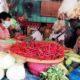 Sidak Pasar Tradisional, Kapolres Pelabuhan Tanjung Perak Jamin Ketersediaan Bahan Pokok