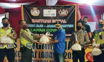 Jelang Lebaran, Abah Anton dan TRG Kembali Bagikan Bantuan Bank BJB