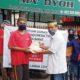 Abah Anton bersama INTI Jabar salurkan paket bantuan kepada masyarakat terdampak pandemi. Minggu (17/5).