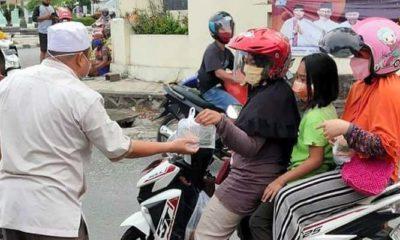 PPP Nunukan bagikan makanan berbuka puasa selama 5 hari. Aksi bagi-bagi makanan oleh DPC PPP Nunukan