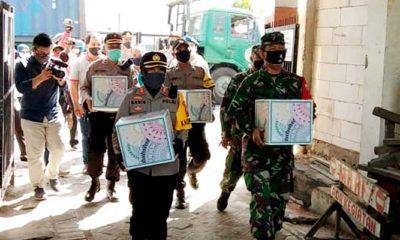 Gerakan bakti sosial, Kapolres Tanjung Perak Danramil Sukimun.