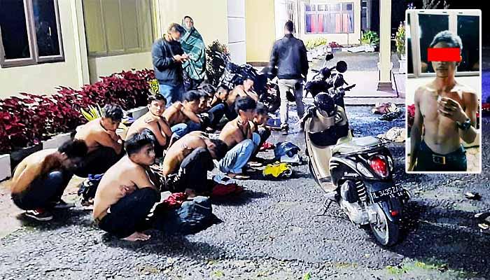 Jajaran Polres Bener Meriah tertibkan balapan liar dan amankan kerumunan pemuda