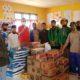 Rektor Unimal dan Mahasiswa KKN K'76 bantu Korban Banjir Bandang.