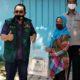 Ajak tak mudik lebaran, ketua Komisi A DPRD Jatim Mayjen TNI (purn) Istu Hari Subagyo bagikan 500 paket sembako
