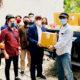 Deddy Sitorus berikan bantuan kepada para mahasiswa asal Kaltara di Jakarta.