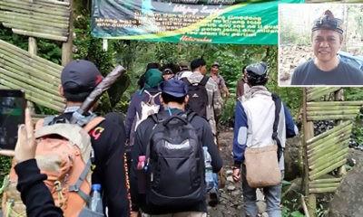Lawan PSBB, Tim Expedisi Galunggung laksanakan Pendakian ke Dinding Ari