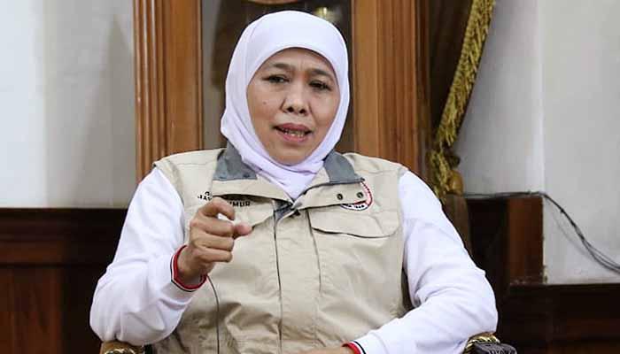 Rawan Terpapar Covid-19, Gubernur Khofifah Ajak Silaturahmi Idul Fitri Lewat Online
