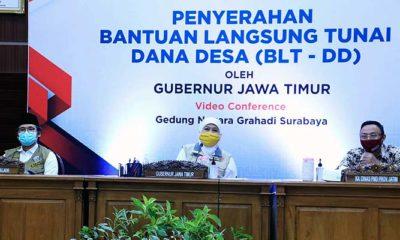 Jawa Timur teratas penerima BLT DD di Indonesia.