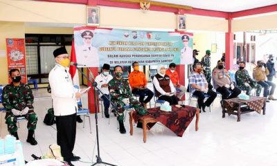 Gubernur Khofifah bantu masyarakat kepulauan, Bupati Sumenep ucapkan terima kasih.