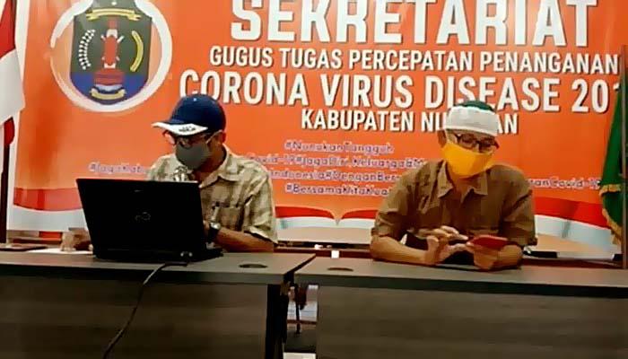 Kasus baru pasien positif Corona di Nunukan adalah kluster Sukabumi.