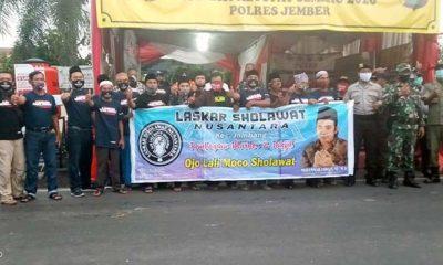 Gandeng Laskar Sholawat Se-Jatim, Fawait Bantu Masyarakat Terdampak Covid-19