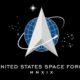 Bendera Space Force diluncurkan di Gedung Putih.