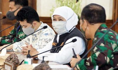 PSBB di Malang Raya, Gubernur Khoffiah ajukan surat ke menkes.