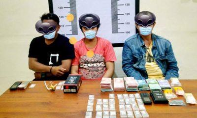 Polres Palopo ungkap jaringan pengedar narkoba sabu.