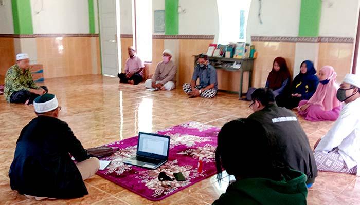 Tim Gugus Covid PCNU Nunukan siap bantu pendataan calon penerima bantuan.